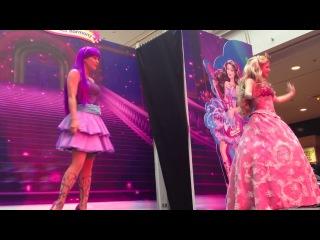 ����� ��������� � ���-������ ���/Barbie Princess Popstar Live Show