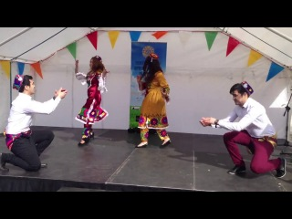 Tajik Dance Navruzi 2014 London.
