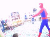 Человек-паук на детском празднике в самаре