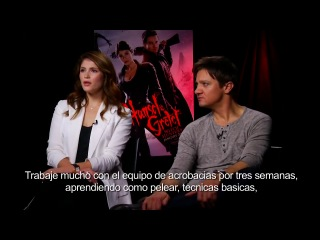 Jeremy Renner and Gemma Arterton Interview